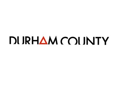 Durham County - wordmark design