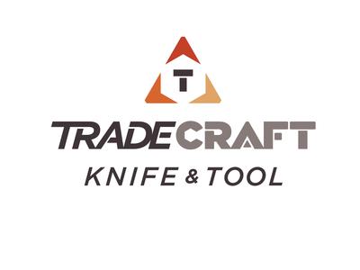 Tradecraft Knife & Tool - Logo Design
