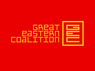 Great Eastern Coalition - Breath Anew Logo Design breathanew futurism film typography design identitydesign logo logodesign