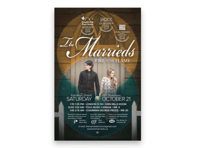 The Marrieds - FMO poster lyrical marrieds