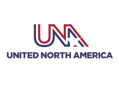 United North America - Logo Design immigration alternate futures new world order potus stars and stripes mocumentary una usa united states of canada new north america branding logo design logo documentaryfuturism docfuturism breath anew