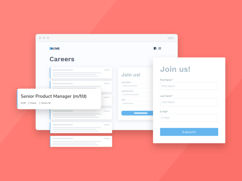 Talentry Embedded forms careers talentry interface design uidesign user experience illustration visual design forms ui uxui ux