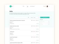 Talentry Referral App - Job list page