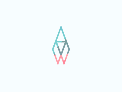 Rocket logo triangle shape color gradient illustration vector blue graphic logo design edinburgh rocket