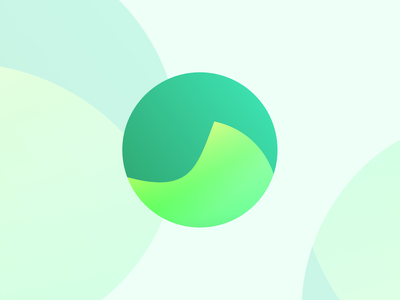Swirl Sphere green branding gradient shape colour circle logo graphic scotland edinburgh design