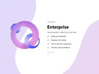 Enterprise web panel