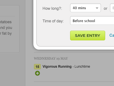 Vigorous Running Lunchtime