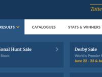 Sales menu