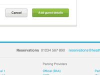 Add guest details