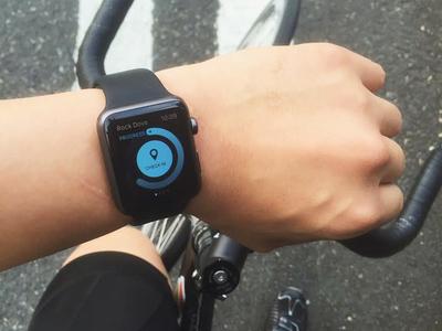 Rock Dove Apple Watch App