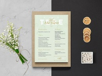 Christmas & New year - Menu design