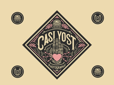 Identity package for Casi Yost Photography