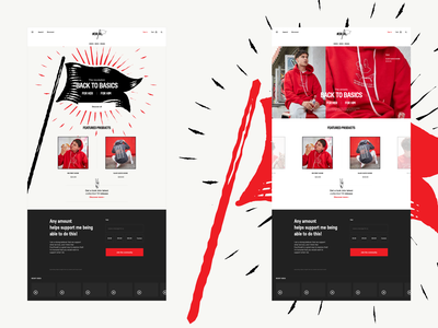 2019 - Visual exploration store ui home page