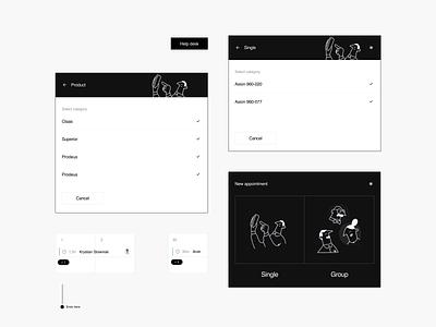 Dashboard - Visual exploration events calendar meetings dashbaord ui