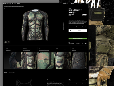 Symbo - RiB prowling wolves clothes redesign look book apparel poland fashion