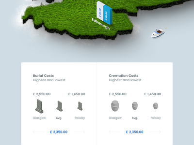 F - Infographics/Map v2 map isometric land infographics