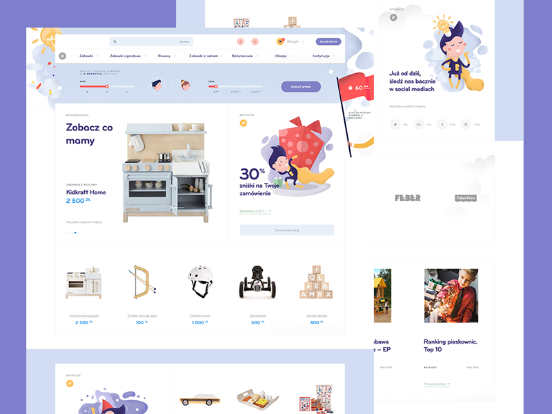 Brykacze 2.50 - Home kids store grain grit e-commerce frisk