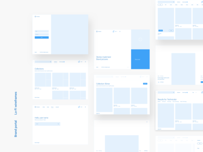 Six (LO/FI Wireframes)