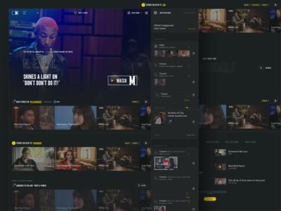 Music.com - Home page