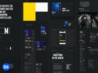 Music.com -  Behance case study