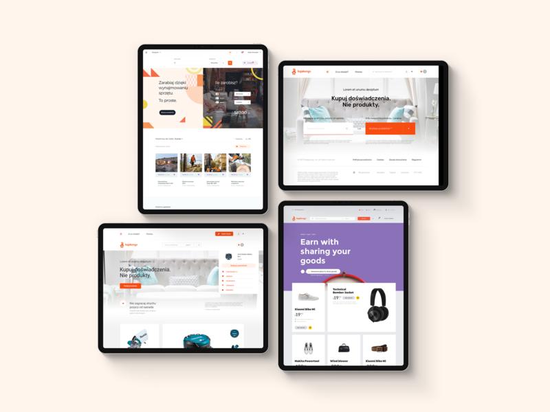 Sharing is Caring - Behance case study ux ui ux webdesign flat design share app sharing caring fat flat