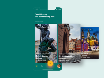 Adventure app - Featured places travel app traveling travel mobile app adventure