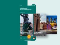 Adventure app - Featured places