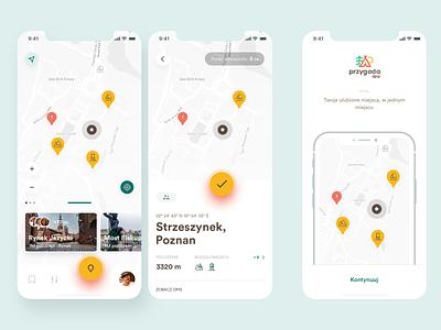 Adventure app - My map travel app travel places map app adventure
