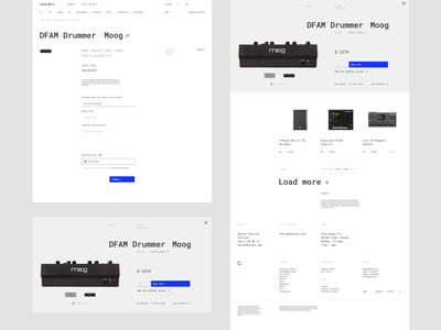 Skylark - Product preview (Quick) roland typography results minimal techno store minimalistic mpc moog digital music dj product lists listing