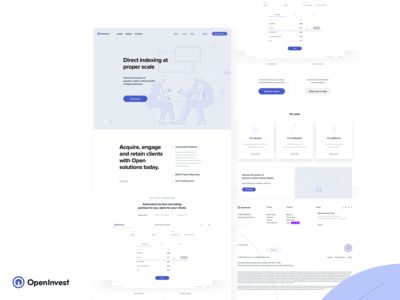 Openinvest - Redesign (Part one)