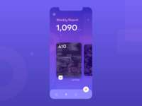Concept for Fitness Tracking App