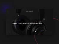 Bang & Olufsen  - Product Page Concept