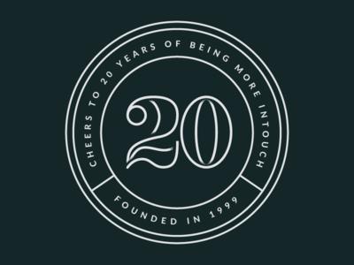 20 Years Badge