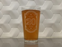 Anniversary Pint Glass