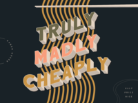 Truly Madly Cheaply // WTF Should I Letter
