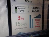 Stats fitnes app WIP