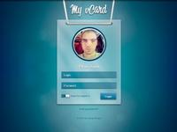 My Vcard Login Page