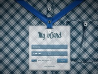 My Vcard Login Page FINAL