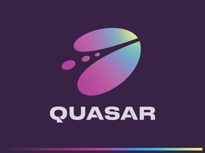 Quasar Logo — Gradient