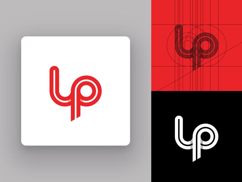 LP Monogram Concept symbol typography modern logo design custom logo design logo grid flat logo design geometric design vector identity design branding icon design icon letters lettermark monogram mark logotype logo design logo
