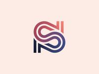 Letter S Geometric Logo