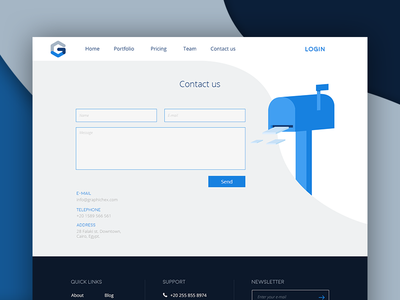 Graphic Hex - Contact Us contact deadline price customize freelancer ui order design web hex graphic