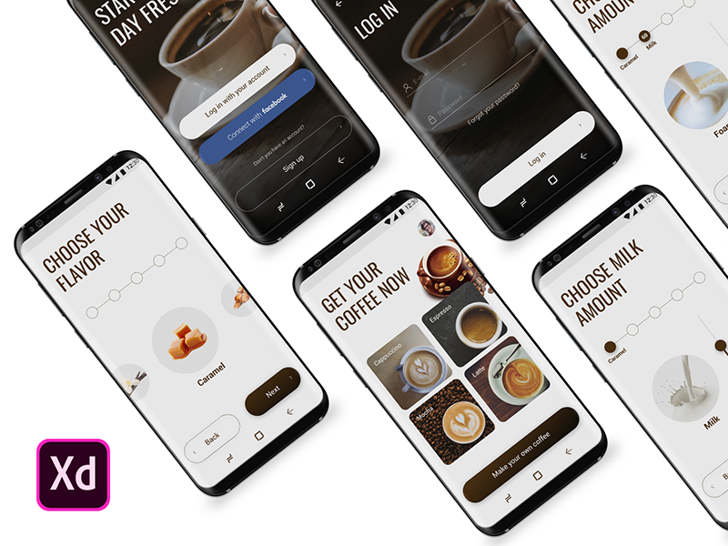 Coffee making app