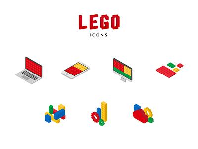Lego Icons ux icon pack solutions laptop lego icon icons set icons app design ui