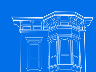 Elevation Sketch drafting san francisco architecture