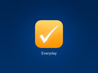 Everyday Icon everyday icon ui iphone ios ios7 ios 7 flat flat ui