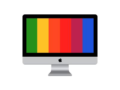 1 Layer iMac imac 1 layer gradient stroke