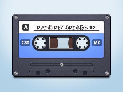 Cassette Tape cassette tape tape icon music songs radio
