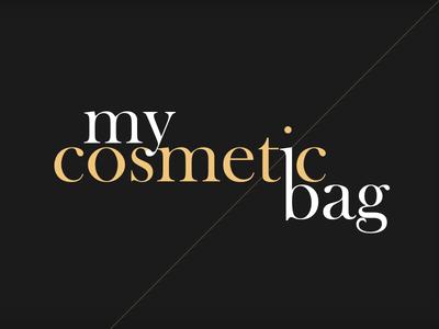 my cosmetic bag