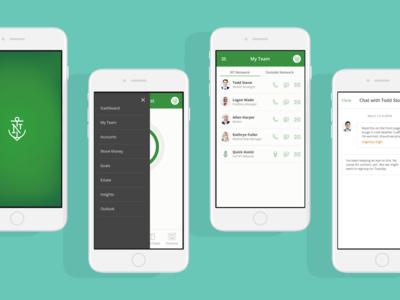 Wealth management app mobile ios